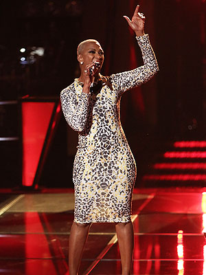The Voice: Team Blake Keeps 'One in a Trillion Vocalist' Sisaundra Lewis