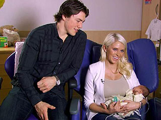 Hockey Hero T.J. Oshie's Newborn Daughter Has Life-Saving Surgery