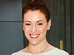 Alyssa Milano Shares Pic of Her Big Baby Bump: 'It's Not Twins'
