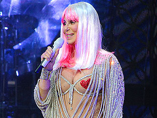 Cher Wears Heart-Shaped Pasties on Her 'Dressed to Kill' Tour (PHOTO)