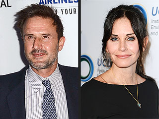 Courteney Cox and Boyfriend Johnny McDaid Attend David Arquette's Sold Premiere