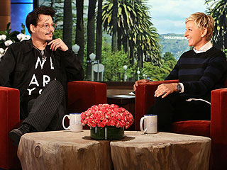 Johnny Depp: My Teen Daughter Doesn't Think I'm That Cool | Ellen, Johnny Depp