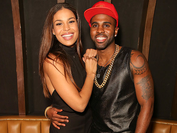 Jordin Sparks and Jason Derulo Get Cozy at L.A. Listening Party