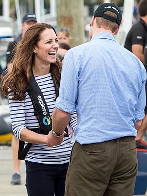 Kate Beats Prince William in New Zealand Yacht Race| Couples, The British Royals, The Royals, Kate Middleton, Prince William