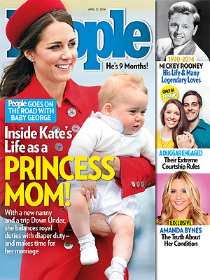 Cover Story First Look: Inside Kate's Life as a Princess Mom