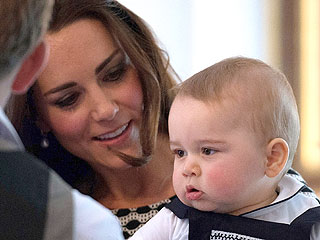 Prince George Performs First Royal Duty – a Playdate