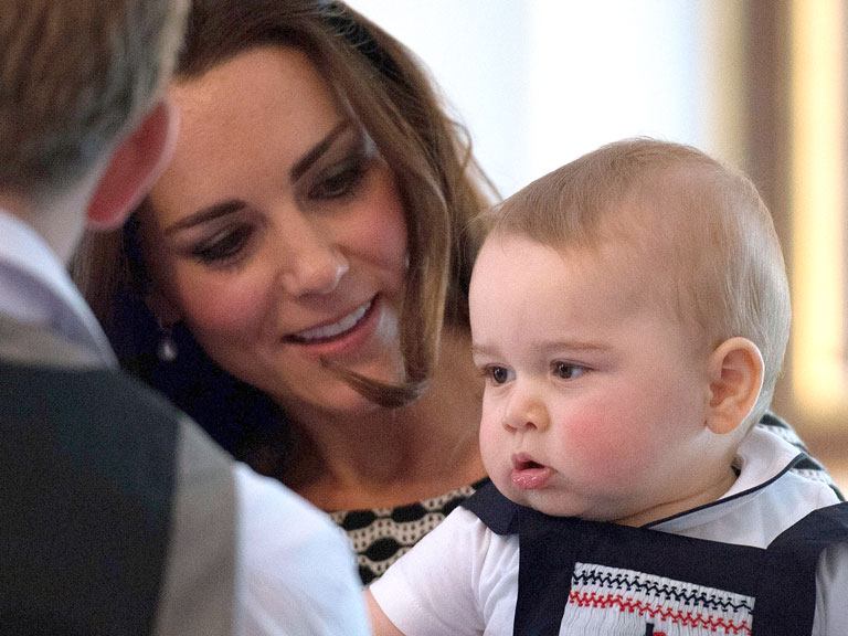 Kate Middleton Baby George kate, prince william, ...