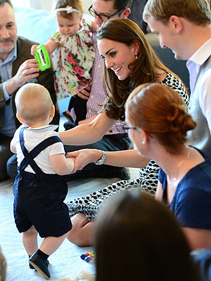 Prince George Performs First Royal Duty – a Playdate| The Royals, The British Royals, Kate Middleton, Prince George, Prince William