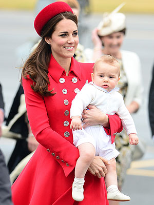 Prince George Kate Middleton Prince William Royal Tour New Zealand Australia