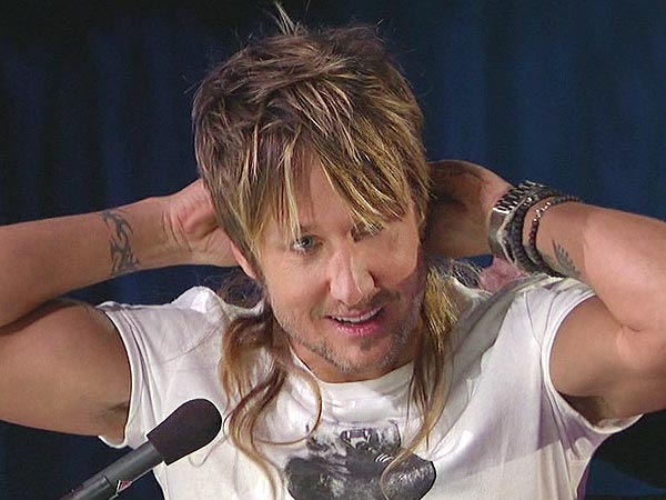 American Idol's Top 8 Go '80s: Check Out Keith's Mullet | Keith Urban