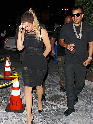 Khloé Hits the Town – Again! – with Rapper French Montana | Khloe Kardashian