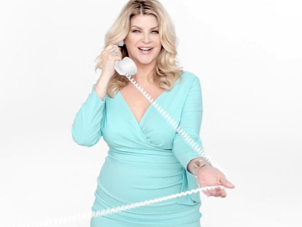 Kirstie Alley Joins Jenny Craig – Again!