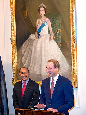 Prince William Tells New Zealand Hosts: Sorry If George Is Keeping You Up at Night