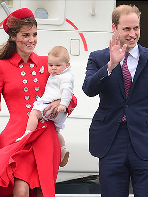Prince George's Nanny Makes First Appearance| Lupo, Kate Middleton, Prince George, Prince William