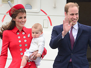 Will, Kate & George Land in New Zealand – See The Pic!