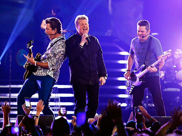 Rascal Flatts Cops to Lip-Syncing at ACM Awards