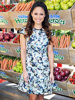Vanessa Lachey Farm Heroes Saga mobile launch