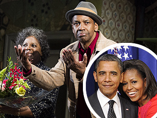 The Obamas Have a Broadway Date Night