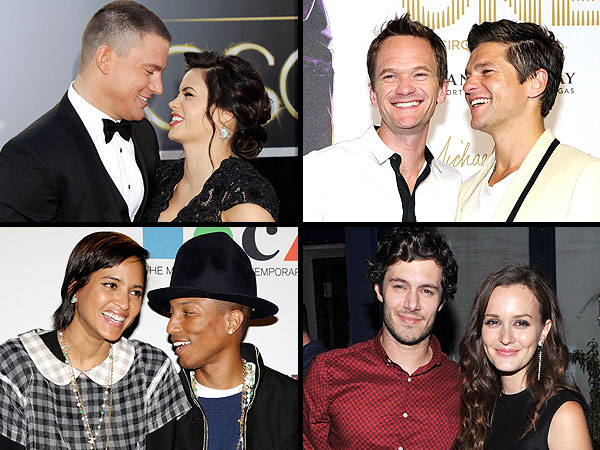 POLL: Who Is Hollywood's Cutest Couple?| Couples, Adam Brody, Andrew Garfield, Channing Tatum, David Burtka, Emily Blunt, Emma Stone, Jason Sudeikis, Jenna Dewan, Jennifer Lawrence, John Krasinski, Leighton Meester, Neil Patrick Harris, Nicholas Hoult, Olivia Wilde, Pharrell Williams
