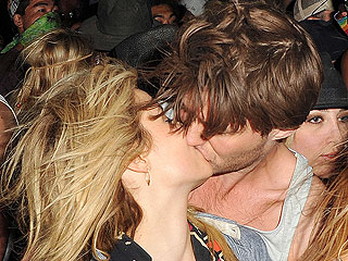 PHOTO: Dianna Agron Caught in Passionate Smooch at Coachella | Dianna Agron