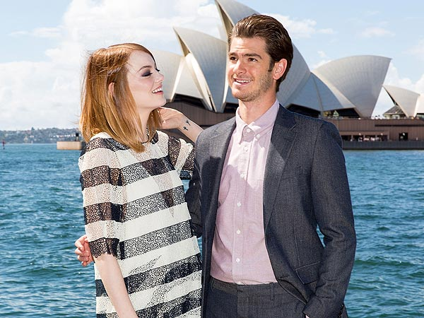 Why Emma Stone and Andrew Garfield Are Hollywood's Cutest Couple