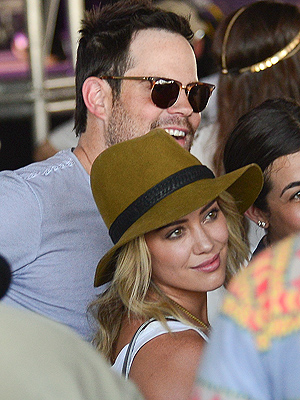 Hilary Duff and Mike Comrie 'Still Separated but Good Friends'
