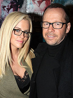 Newly Engaged Jenny McCarthy and Donnie Wahlberg Enjoy a Date Night