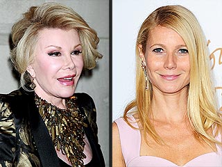 Joan Rivers Takes Aim at Gwyneth Paltrow on Watch What Happens Live (VIDEO) | Gwyneth Paltrow, Joan Rivers