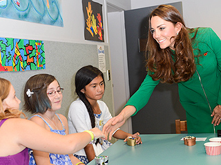 Kate Visits Children's Hospice in New Zealand