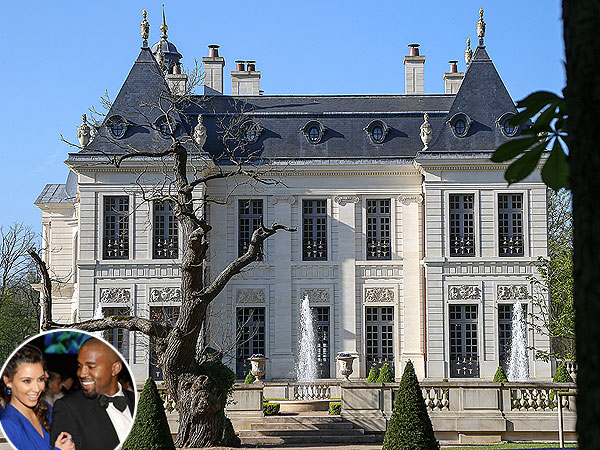 Is This Kim and Kanye's Over-the-Top Wedding Venue?
