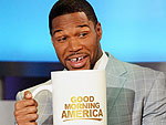 Michael Strahan Resets His Alarm Cl