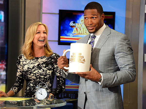 Michael Strahan on Good Morning America: Ex-Footballer Officially Joins Show