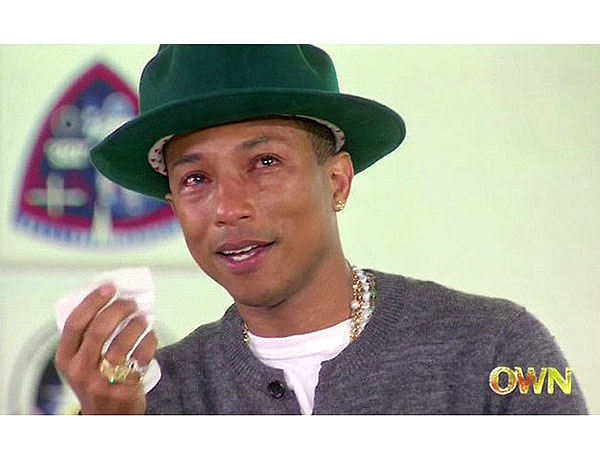 Pharrell Williams Breaks Down on Oprah Prime