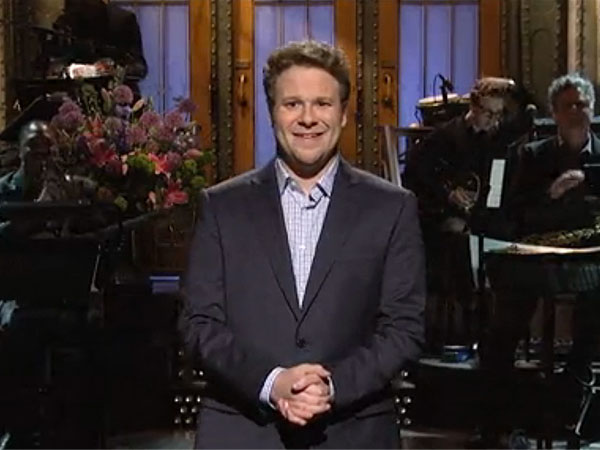 Seth Rogen Hosts Saturday Night Live