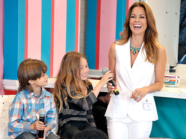 Brooke Burke-Charvet Pretty Great Family Debate