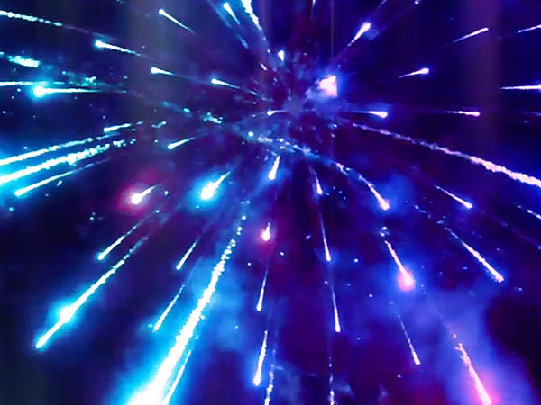 This Is What a Fireworks Display Looks Like from the Inside Out (VIDEO)