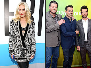 Carson Daly and Adam Levine Say Gwen Stefani Would Be Great on The Voice