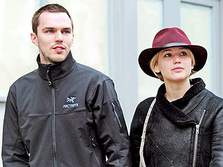PHOTOS: Jennifer Lawrence & Nicholas Hoult Enjoy a Romantic Outing in London | Jennifer Lawrence, Nicholas Hoult, Tom Ford
