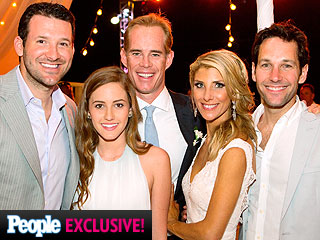 Sportscaster Joe Buck's Wedding Draws Guests Paul Rudd and Tony Romo (PHOTO)