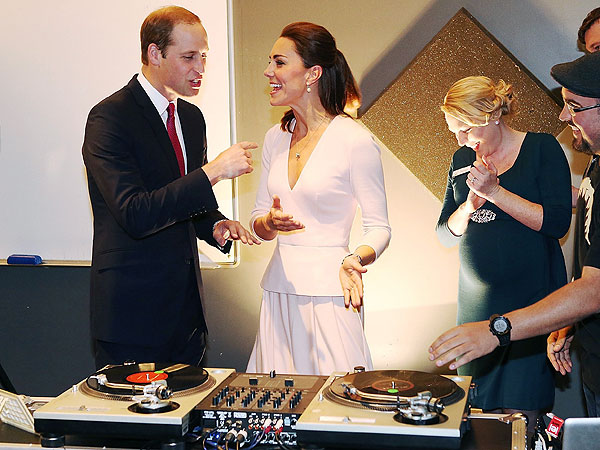 Will and Kate Try Their Hands at Deejaying| The British Royals, The Royals, Kate Middleton, Prince William