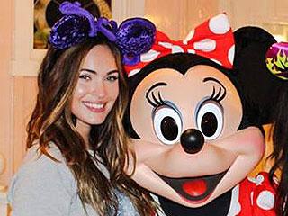 PHOTO: Megan Fox Meets Minnie Mouse at Disneyland