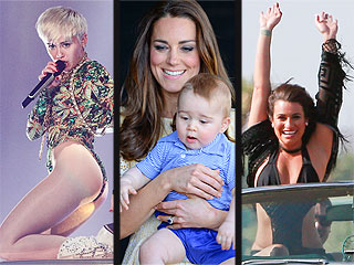 The Royals Go Wild, Miley Channels a Duck & More Weekend News
