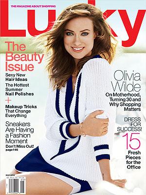 Olivia Wilde Lucky Magazine