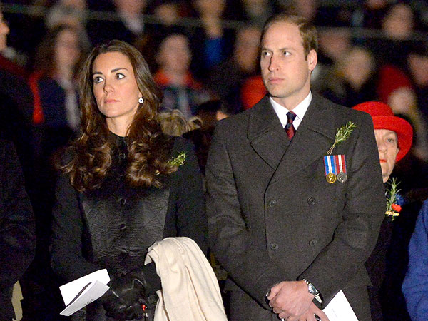 William & Kate Rise at Dawn to Honor War Veterans