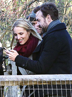 Proud Parent Alert – New Dad Jason Sudeikis Shares Photos with Dianna Agron | Dianna Agron, Jason Sudeikis