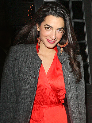 George Clooney's Fiancée Amal Alamuddin Speaks! And She Sounds Really Smart (VIDEO)