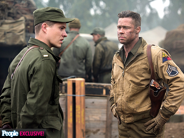 See Brad Pitt as Sergeant 'Wardaddy' in Fury: PHOTOS| Fury, Movie News, Brad Pitt, Shia LaBeouf