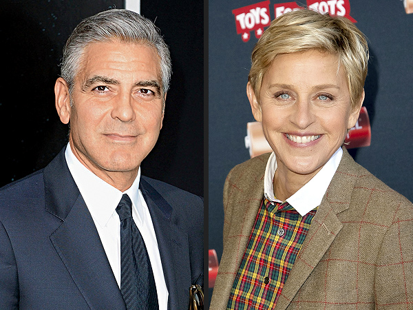 George Clooney Engaged: Ellen DeGeneres Posts Funny Tweet