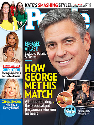 Amal Alamuddin's Engagement Ring from George Clooney – See Exclusive Photos!| Couples, Engagements, Amal Alamuddin, George Clooney