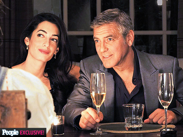 George Clooney and Amal Alamuddin Attend Wedding in Cabo San Lucas